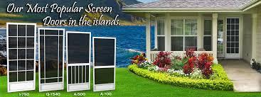 screen doors hawaii best screen doors company