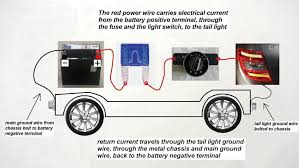 mercedes benz c class w204 fuse diagrams and commonly blown fuses normal path of electrical current around the tail light circuit