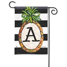 southern welcome pineapple monogram