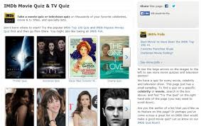 a few good sites for interactive movie trivia quizzes high five  imdb movie quiz tv quiz