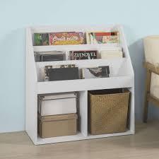 Sobuy Bücherregal Für Kinder Zeitungsständer Aufbewahrungsregal