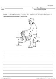 PrimaryLeap co uk   Picture prompt   The Talking Butterfly Worksheet Pinterest Narrative PowerPoint