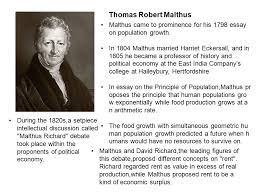 adam smith born in county fife scotland in a scottish  thomas robert malthus malthus came to prominence for his 1798 essay on population growth