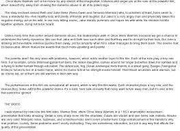 were warriors essay once were warriors essay