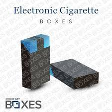 Custom Electronic Cigarette Boxes