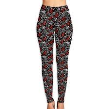 Amazon Com Womens Hearts And Words Xoxo Leggings Yoga Long
