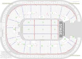 detailed seat row numbers concert stage chart with floor map showing upper  lower tiered blocks Nottingham