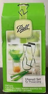 ball utensil set. ball utensil set for preserving, 4 pcs. brand new in box