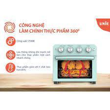 Lò nướng kiêm nồi chiên không dầu UNIE Q37 dung tích 25L, công suất 1700W  thỏa sức sáng tạo món ăn