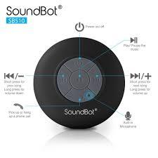 shower radio review guide x: soundbotar sb shower speaker sb blk x soundbotar sb shower speaker
