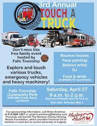 Event Flier Falls Touch A Truck Event Flier 2 Wbcb News