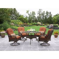 Small Picture Better Homes and Gardens Azalea Ridge 5 Piece Outdoor Dining Set