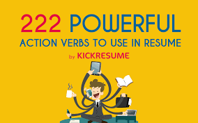 resume cheat sheet 222 action verbs to use in your new resume