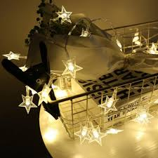 indoor string lighting. 3m Star Fairy Lights Battery Operated Led Christmas Outdoor Indoor String Garland For Tree Garden Bedroom Home Decoration Powered Lighting