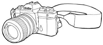 Small Picture Photography Professional Camera Coloring Page Coloring Sky
