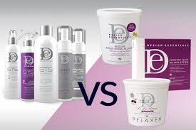 Relaxer By Design Essential De Pro Series Sts Express Smoothing System Vs Chemical