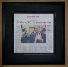 Columbia Shop Articles Newspaper Framed – Frame