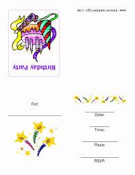 Free Printable Birthday Invitation Templates For Kids Printable Birthday Invitations Valid Free Printable Birthday