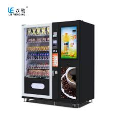 Cold Beverage Vending Machine Beauteous SnackFoodCold Drink Vending Machine LE48A Speletei