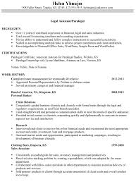 Legal Resume Example Combination Sample Assistant Paralegal Infinite