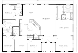 4 bedroom floor plans. Ordinary 4 Bed Bath Floor Plans #2: Lovely Ideas Bedroom H