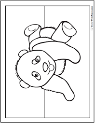 Small Picture Panda Coloring Pages Bamboo And Baby Pandas