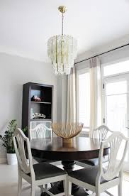 image of murano chandelier dining