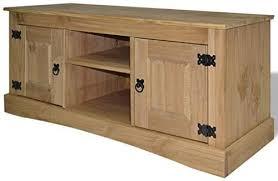 vidaXL <b>TV Cabinet Mexican</b> Pine Corona Range 120x40x52cm ...