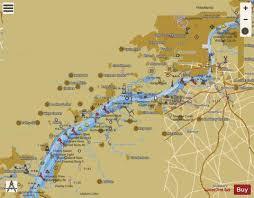 Delaware River Wilmington To Philadelphia Marine Chart