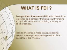 foreign direct investment in  fdi in 2