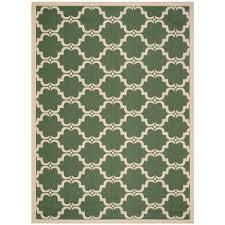 nautical round outdoor rugs courtyard dark green beige 9 ft x 12 ft indoor outdoor area