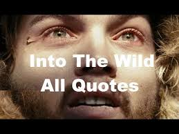 Into The Wild Quotes Simple Into The Wild 48 Most Inspiring Quotes Christopher
