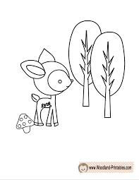 Awesome To Do Woodland Animal Coloring Pages Free Printable Animals