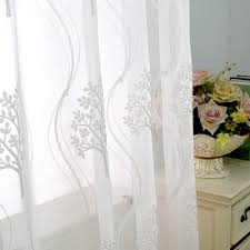 White Curtains For Living Room Popular White Sheer Buy Cheap White Sheer Lots From China White