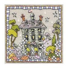 White House Cross Stitch Chart