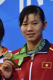 Bronze medallist Vietnam's Thi Anh Vien Nguyen poses with her medal. - 455959966-bronze-medallist-vietnams-thi-anh-vien-gettyimages