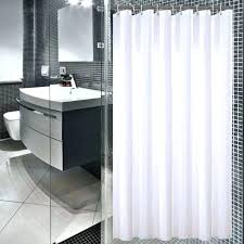 hotel collection shower curtain extra long with quality tie back curtains grey dye ho tie back shower