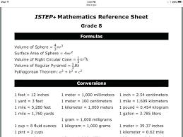 8th Grade Staar Math Reference Chart Www Bedowntowndaytona Com
