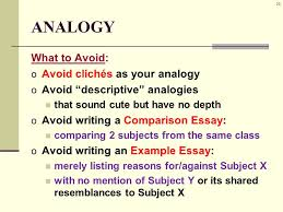 rhetorical strategies analogy rhetorical strategies a k a  29 29