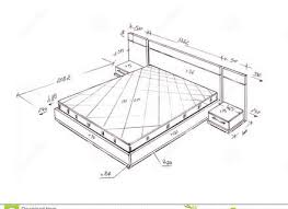 modern furniture design sketches. Exellent Modern Bed Drawings And Design Modern Interior With Furniture Sketches T