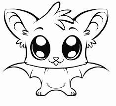 Small Picture Image detail for Coloring pages of cute baby animals Halloween