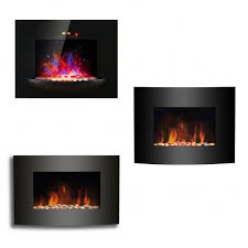wall mounted electric fireplace heater awesome wall mounted electric fire fireplace black curved glass heater led