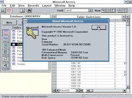 What Is Microsoft Access Winworld Microsoft Access 1 X