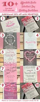 Well Liked Valentine Wedding Invitations Ud14 Advancedmassagebysara