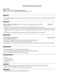 Software Engineer Sample Resume Software Engineer Career Objective