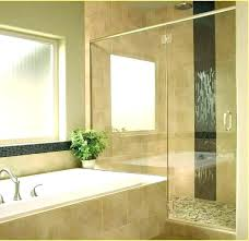 glass shower surround wall ideas bathtub doors door aqua