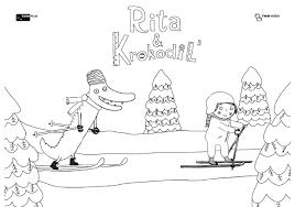 Bioscoopfilm Voor De Allerkleinsten Rita Krokodil 3 Meervoormamas