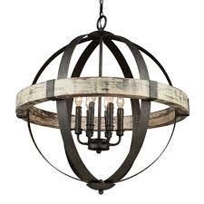 artcraft lighting castello 6 light sphere chandelier