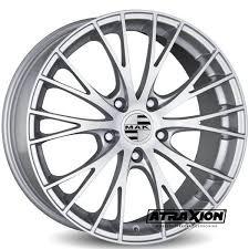 <b>9x19</b> | <b>MAK Rennen</b> Silver | Atraxion | Tyres-Wheels-Accessories ...