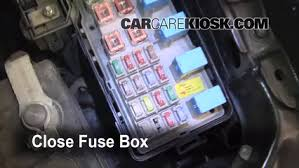 replace a fuse 2002 2006 toyota camry 2006 toyota camry le 2 4l 6 replace cover secure the cover and test component